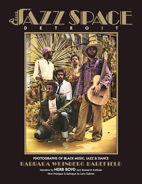 JazzSpace Detroit book cover.