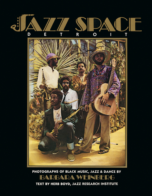 JazzSpace Detroit book cover.